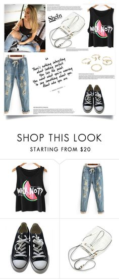 """""""Shein contest"""" by jasmina-fazlic ❤ liked on Polyvore featuring Converse and Lipsy"""