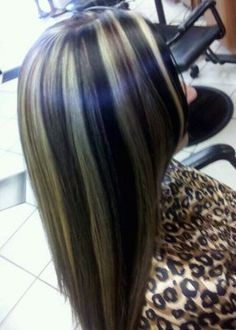 Highlight/Double lowlight : Hair By Annie