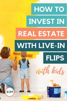 Have you ever considered flipping houses? What about living in them, with your kids, through the renovations? I promise, it's not as crazy as it sounds. And If you're just getting started in real estate investing, it could actually be a really great option for you. Make More Money, How To Raise Money, Make Money From Home, Getting Into Real Estate, Stock Market Investing, Saving For Retirement, Real Estate Investor, Budgeting Tips, Flipping