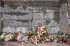 Execution wall, Auschwitz Concentration Camp, Birkenau Concentration Camp, Oświęcim, Poland - Jim Zuckerman Photography
