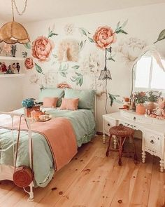 bedroom Ideen Vintage 13 Girls Bedroom Ideas Too Cute to Be True! 2019 13 Girls Bedroom Ideas Too Cute to Be True! The post bedroom Ideen Vintage 13 Girls Bedroom Ideas Too Cute to Be True! Bedroom Vintage, Vintage Home Decor, Vintage Beds, Vintage Girls Rooms, Vintage Room, Vintage Inspired Bedroom, 1920s Bedroom, Vintage Modern, French Vintage