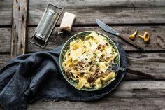 kanttarelli-carbonara Cauliflower, Dishes, Meat, Vegetables, Food, Cauliflowers, Tablewares, Vegetable Recipes, Eten