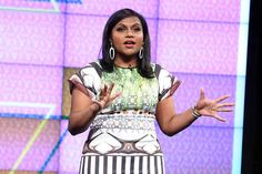 3. Mindy Kaling, screenwriter/showrunner/actress/author