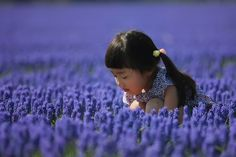 Japenese Girl In Blue