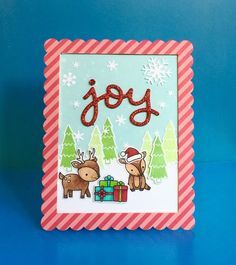 lawn fawn toboggan together cards - Google Search
