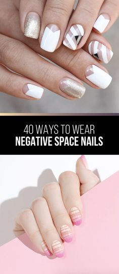 40 Ways to Wear Negative Space Nails