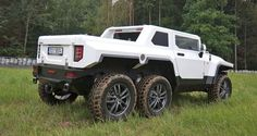 Bureko-6×6 Pickup – Czech Hummer based on Land Rover Discovery VIDEO