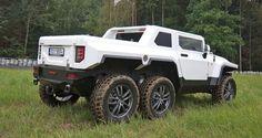 Bureko-6×6 Pickup – Czech Hummer based on Land Rover Discovery VIDEO