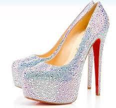 glitter hakken - Google zoeken Silver Pumps, Glitter Pumps, Sparkly Louboutins, Sparkly Pumps, Sparkle Heels, Bridal Shoes, Wedding Shoes, Wedding Dress, Wedding Wear