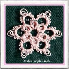 17 bästa bilder om tatted snowflakes på Pinterest ...