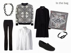 The Vivienne Files: Black and White Packing for a Long Weekend