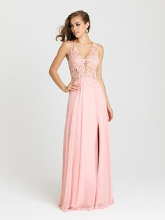 || Pure Couture Prom || Dress / Gown. Madison James Prom. prom 2016. prom dress shopping. Madison James designs. prom styling. get ready for prom. long, baby pink prom dress.