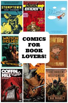 Are you a book lover, but want to get into comics and don't know where to begin? This list of comics for book lovers will show you where to start!.