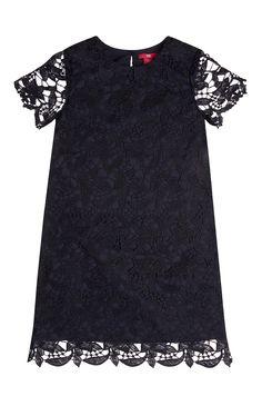 Primark - Zwart kanten A-lijn jurkje