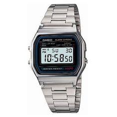 Casio Dress Classic A158WA-1W horloge (geen verzendkosten)
