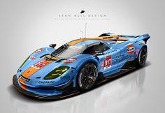 Le Mans 2020 WEC 'Hypercar' Concepts and Liveries on Behance Racing Car Design, Top Luxury Cars, Man Illustration, Le Mans, Koenigsegg, Car Humor, Art Cars, Concept Cars, Porsche