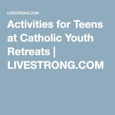 This is for retreat activities.  Large or small groups.