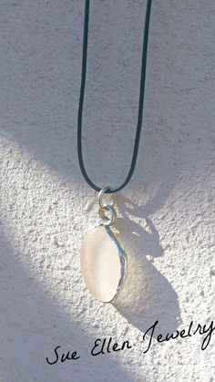 Seaglass pendant by SueEllenDreamland on Etsy Handmade Items, Handmade Gifts, Greek Islands, Sea Glass, Gifts For Him, Pendant Necklace, Soldering, Trending Outfits, Unique Jewelry