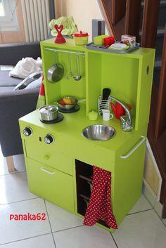 Cuisine (meuble transformé made in maison ^^)