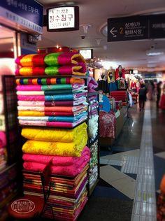 Underground shopping arcades near Dongdaemun, Seoul, Korea