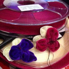Velvet ribbon = velvet pansies?... rosieredcorsetry I was shown this petal making technique at #ococ and I'm@very excited to be putting it into practise! If anyone has any suggestions (netflix or flowers you want to see made) let me know ❤️ #suggestionsalwayswelcome #flowerqueen #lof #languageofflowers #pansy #velvet #textiles #netflix