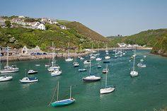 Solva harbour, Wales