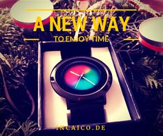 Enjoy a new way to watch the time with the Colour Inspiration Watches. The changing color of the dial is a fashion feature you will love! @incaicosales