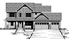 Craftsman   European   Traditional   House Plan 42061