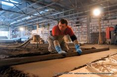 Виброукладка плитки: евростандарт на вашем предприятии | Стяжка пола, полусухая, выравнивание пола