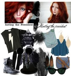 """""""Samantha Madison - All-American Girl"""" by agathapedotte ❤ liked on Polyvore"""