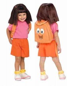 dora costume girls costumes - Swiper Halloween Costume