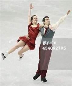 FUKUOKA, JAPAN - DECEMBER 07: Anna Cappellini and Luca Lanotte of Italy compete in the ice dance free dance of USA compete in the ice dance free dance during day three of the ISU Grand Prix of Figure Skating Final 2013/2014 at Marine Messe Fukuoka on December 7, 2013 in Fukuoka, Japan. (Photo by Atsushi Tomura/Getty Images)