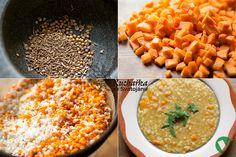 Recept jsem našla v knize Jíme zdravě. Naše tříletá vnučka doslova prohlásila: babičko, ta polévka mi velice chutná! Na dvou lžících oleje n...