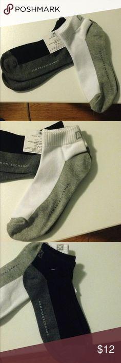 Men's Armani Exchange Socks Brand new! Comes as a package. A/X Armani Exchange Underwear & Socks Casual Socks