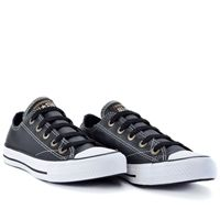 c5f98711c99 Tênis Converse All Star CT As European Ox Preto Branco CT328143