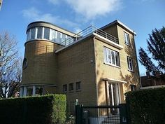 Paul Sdez House in Lambersart - France Streamline Moderne / Style Paquebot. 1932
