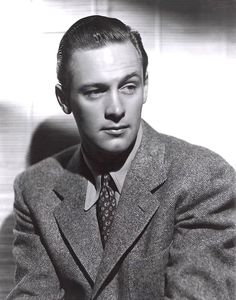 """William Holden (O'Fallon, Illinois, 17 de abril de 1918 - Los Ángeles, 16 de noviembre de 1981) William se casó en 1941 con la actriz Brenda Marshall, vista en películas como """"El halcón del mar"""" (1941) junto a Errol Flynn, o """"La ninfa constante"""" (1943), título dirigido por Edmund Goulding."""