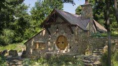 Die Architekten entwarfen das Hobbit-Haus nach den Vorgaben aus Tolkiens Büchern. (Quelle: archerbuchanan.com)