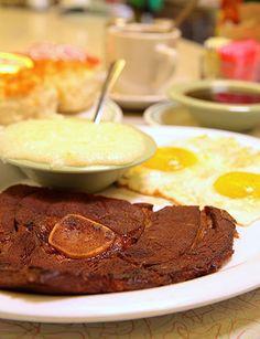 Southern breakfast at Silver Skillet, Atlanta