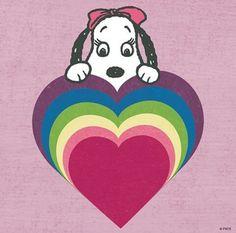 "Snoopy's sister ""Bella""."