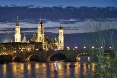 Saragoça a Capital de Aragão - Bilhete de Viagem
