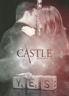 Stana Katic as Kate Beckett and Nathan Fillion as Richard Castle - Castle - promo