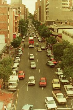 Hillbrow late 1980's Johannesburg City, Canadian Soldiers, Third World Countries, The Old Days, African History, Africa Travel, Vintage Photography, Old Pictures, South Africa