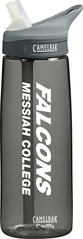 The Fanatic Group Messiah College Double Walled Soft Touch Tumbler Blue Design-3