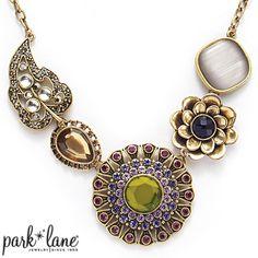 Casablanca Necklace | Park Lane Jewelry $110.00 www.parklanejewelry.com/rep/demmons