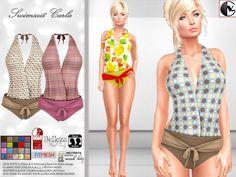 Swimsuit, Female, Swimwear, Fashion, Bathing Suits, Moda, Swimsuits, Fashion Styles, Fashion Illustrations