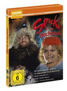 Spuk im Hochhaus - DDR TV-Archiv (2 DVDs): Amazon.de: Katja Paryla, Heinz Rennhack, Stefan Lisewski, Thomas Natschinski, Günter Meyer: Filme...