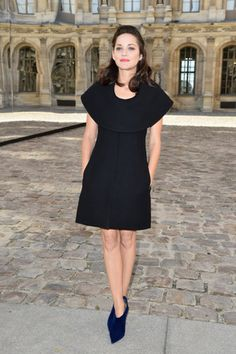 Marion Cotillard at the Christian Dior show.  Source: Getty / Pascal Le Segretain