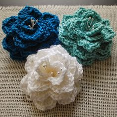 Crochet For Children: Crocodile Stitch Flower (Free Pattern)