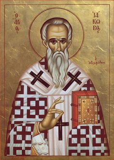 Sfântul Ierarh Iacob Mărturisitorul Byzantine Icons, Saint Nicholas, Orthodox Icons, Mona Lisa, Saints, Lord, Artwork, Painting, Fictional Characters